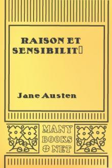 Raison et Sensibilité (tome premier)