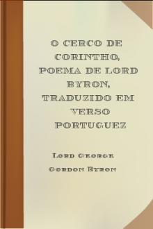 O Cerco de Corintho, poema de Lord Byron, traduzido em verso portuguez