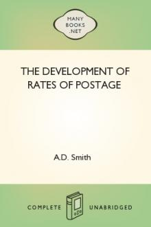 The Development of Rates of Postage by A. D. Smith