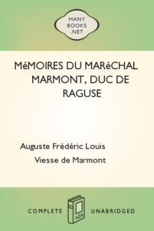 Mémoires du maréchal Marmont, duc de Raguse