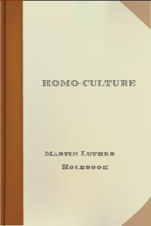 Homo-culture by Martin Luther Holbrook
