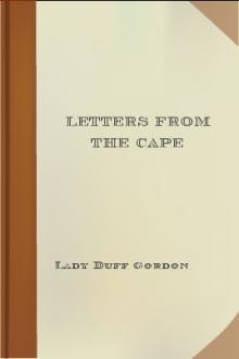 Letters from the Cape by Lady Duff Gordon