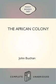 The African Colony by John Buchan