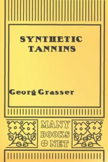 Synthetic Tannins  by Georg Grasser