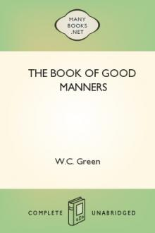 The Book of Good Manners by W. C. Green