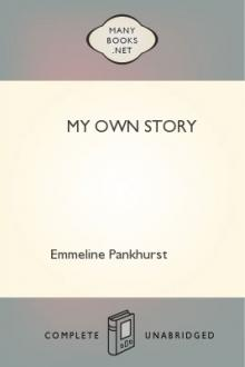 My Own Story by Emmeline Pankhurst