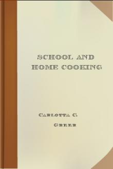 School and Home Cooking by Carlotta C. Greer