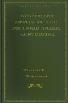 Systematic Status of the Colubrid Snake, Leptodeira discolor Gunther by William E. Duellman