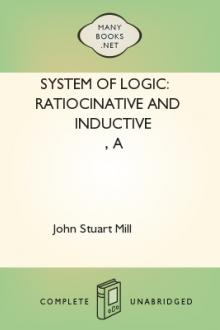 A System of Logic: Ratiocinative and Inductive by John Stuart Mill