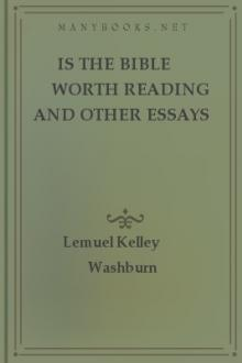 Is The Bible Worth Reading And Other Essays