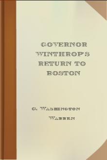 Governor Winthrop's Return to Boston
