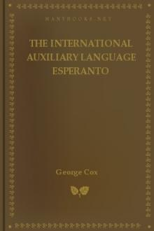 The International Auxiliary Language Esperanto by George Cox