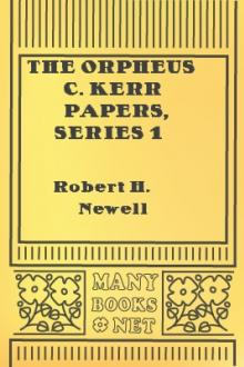 The Orpheus C. Kerr Papers, Series 1