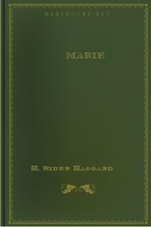 Marie by H. Rider Haggard