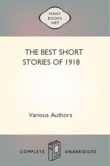 The Best Short Stories of 1918 by Unknown