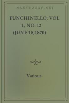 Punchinello, vol 1, no. 12 (June 18,1870) by Various Authors