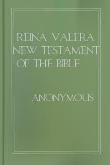 Reina Valera New Testament of the Bible 1858 by Unknown