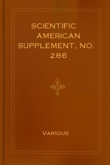 Scientific American Supplement, No. 286 (June 25, 1881) by Various Authors