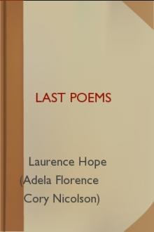 Last Poems by Laurence Hope