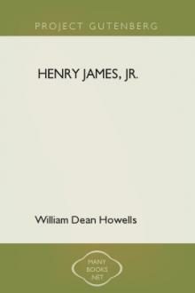 Henry James, Jr. by William Dean Howells