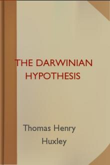 The Darwinian Hypothesis by Thomas Henry Huxley