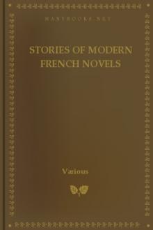 [Scribner's] Stories of Modern French Novels