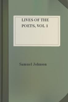 Lives of the Poets, vol 1  by Samuel Johnson