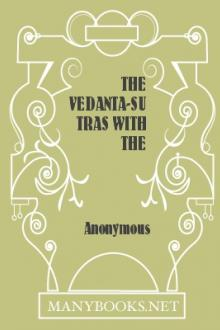 The Vedanta-Sutras with the Commentary by Ramanuja by Unknown