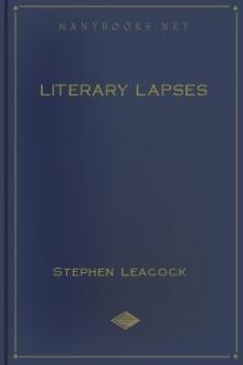 Literary Lapses by Stephen Leacock