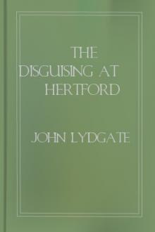 The Disguising at Hertford