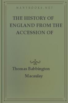 The History of England from the Accession of James II, vol 1 by Thomas Babbington Macaulay