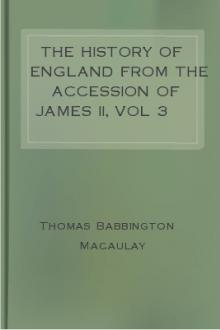 The History of England from the Accession of James II, vol 3