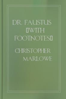 Dr. Faustus (with footnotes) by Christopher Marlowe