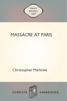 Massacre at Paris by Christopher Marlowe