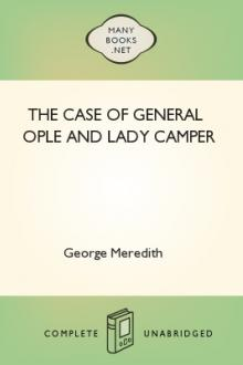 The Case of General Ople and Lady Camper by George Meredith