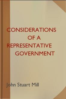 mill representative government