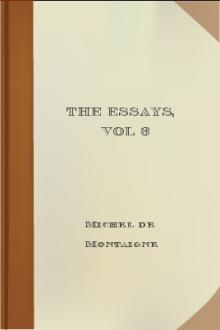 The Essays, vol 3 by Michel de Montaigne