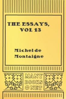 The Essays, vol 13 by Michel de Montaigne