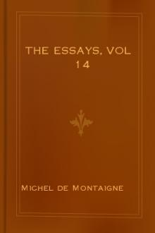 The Essays, vol 14 by Michel de Montaigne