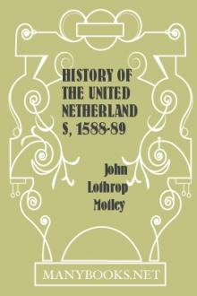 History of the United Netherlands, 1588-89