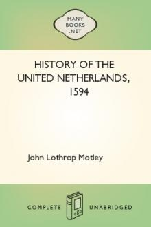 History of the United Netherlands, 1594