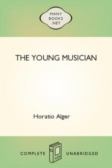 The Young Musician by Jr. Alger Horatio