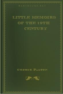 Little Memoirs of the 19th Century