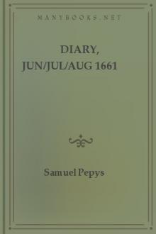 Diary, Jun/Jul/Aug 1661