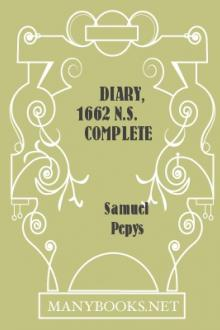 Diary, 1662 N.S. Complete