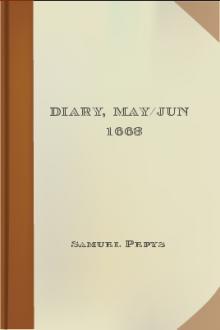 Diary, May/Jun 1663