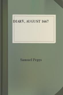 Diary, August 1667