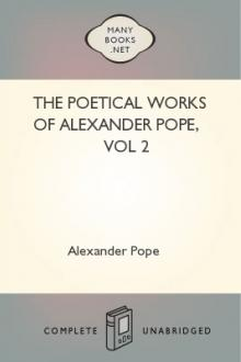 The Poetical Works of Alexander Pope, vol 2 by Alexander Pope