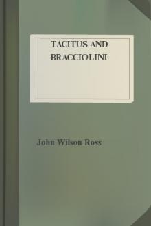 Tacitus and Bracciolini