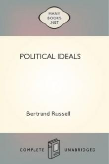 Political Ideals by Bertrand Russell